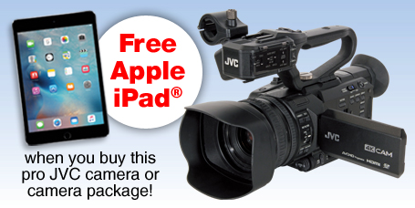 Professional Video Camera gives you a complete HD broadcast quality video production from a single camera
