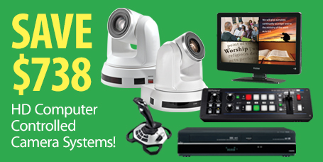 New Low Price on Affordable Computer Controlled Camera Package