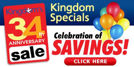 Kingdom Anniversary Sale