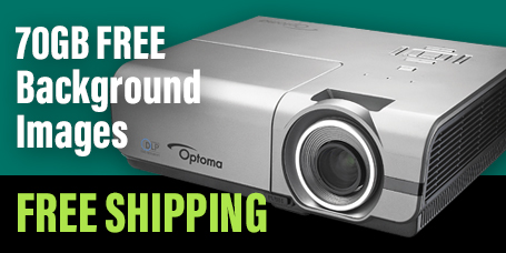 Free Shipping and Free Images with THIS Projector