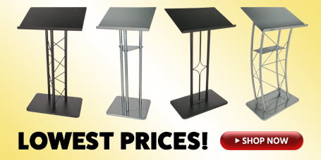 Low prices on Metal Lecterns