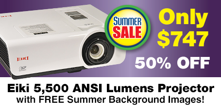 5500 Eiki Video Projector just $747 with Coupon