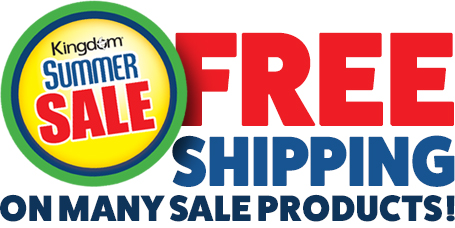 Free Shipping on select Kingdom Products