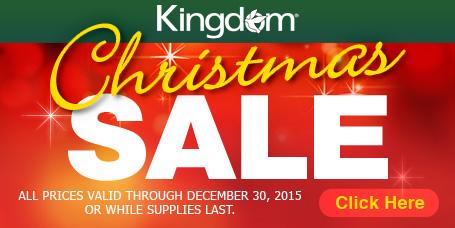 Kingdom Christmas Sale