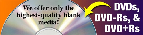DVDs - DVD-Rs -Blank DVDs