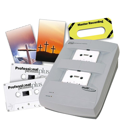 Cassettes - Duplicators - Recorders