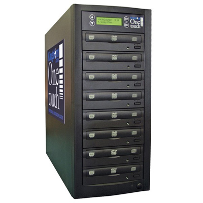 Kingdom One Touch DVD CD Duplicators