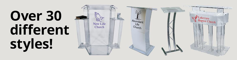 Podiums & Pulpits