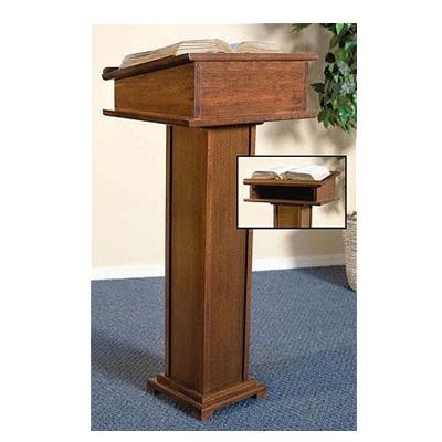 Wood Podium - Wood Lecterns - Wood Pulpits