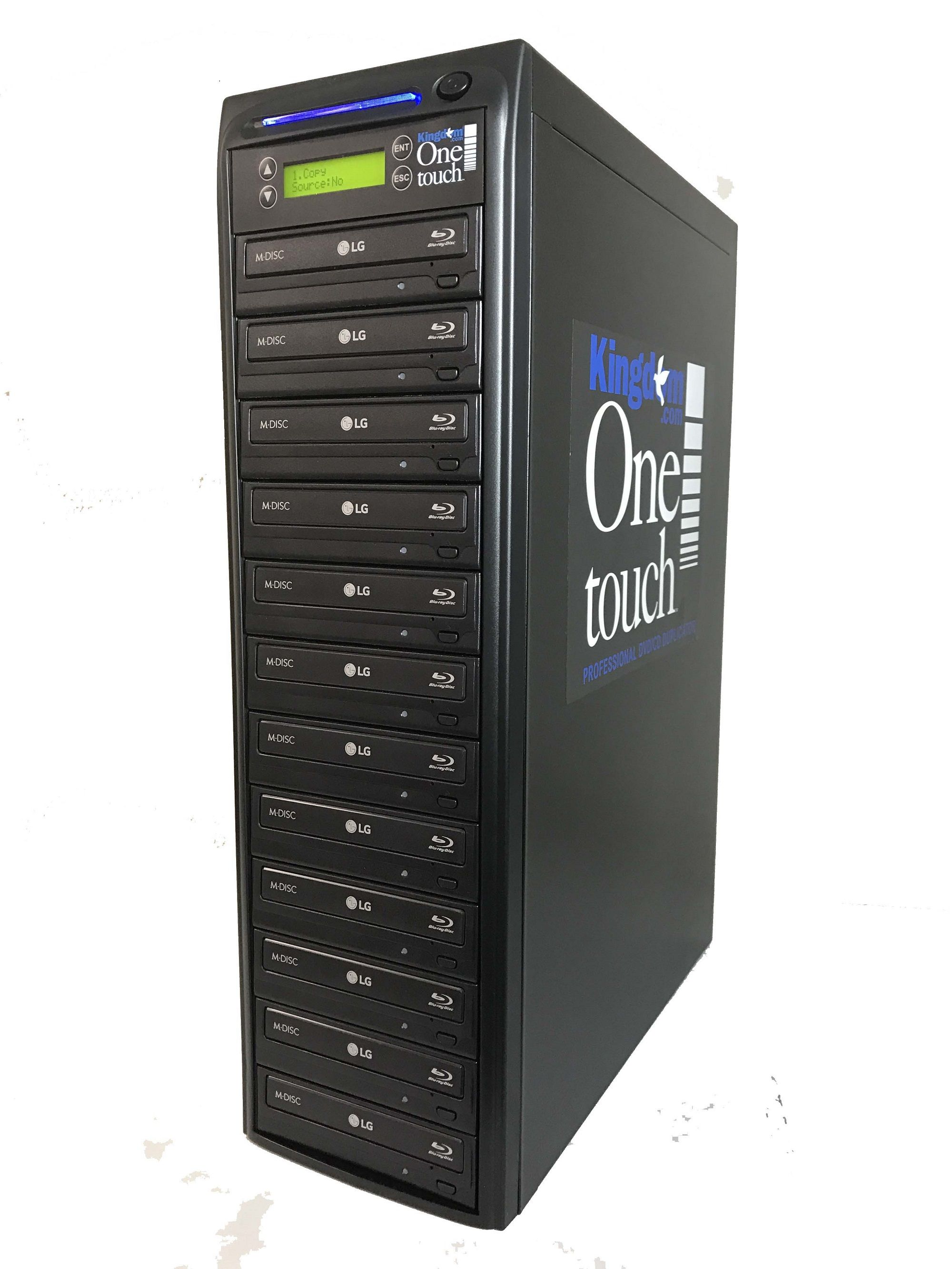 Kingdom One Touch Blu Ray Duplicator 1 Reader/ 11 Writers