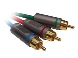 Cables-To-Go Component Video Cable - RCA - 100 Ft