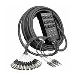 Audio Snake - 12 Microphone Channels - 50 Ft