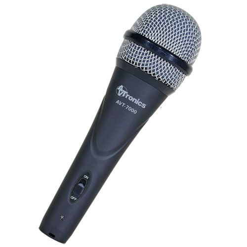 AVTronics Handheld Dynamic Microphone - Super Cardioid w/ Switch