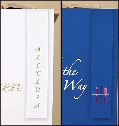 Advent & Easter Reversible 32 Inch Bookmark