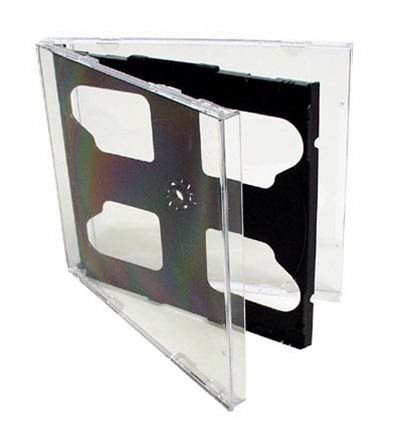 2 CD Jewel Box - Clear