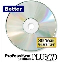 Kingdom Professional Premium Plus CDs - Silver Inkjet