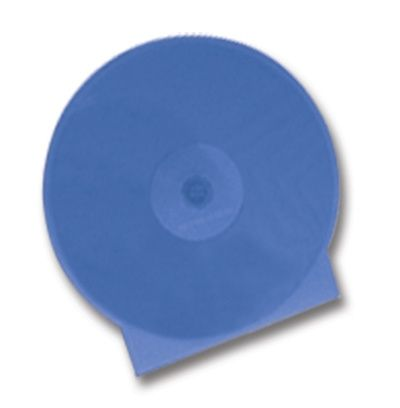 CD Clamshell Case - Superior Soft Poly - Blue