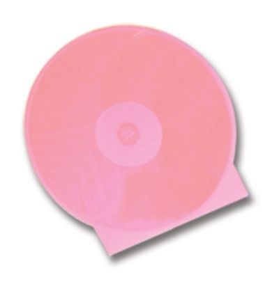 CD Clamshell Case - Superior Soft Poly - Pink