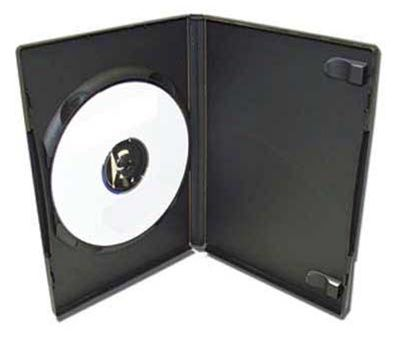 1-Disc Capacity DVD-CD Case - Black