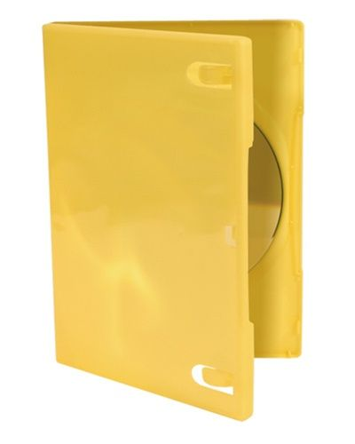 1-Disc Capacity Commercial DVD-CD Case - Yellow