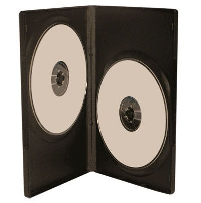 2-Disc Kingdom Superior DVD Case - Black