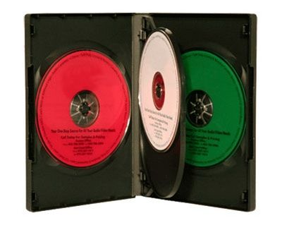 4-Disc Kingdom Superior DVD Case - Black
