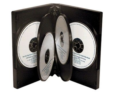 6-Disc Kingdom Superior DVD Case - Black