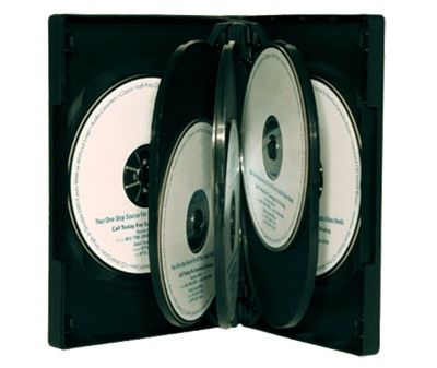 8-Disc Kingdom Superior DVD Case - Black