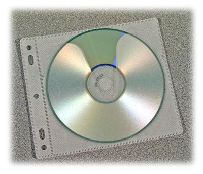 Single CD Sleeve Insert for CDFW