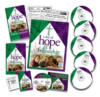 Day of Hope and Friendship Kit w/ 100 Pre-printed CDs