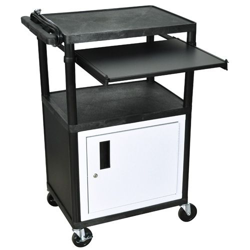 Luxor LP Series Presentation Station w/ Cabinet and Electric