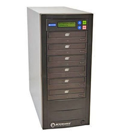 Microboards Premium Pro 18X DVD Duplicator - 5 Copy - 160GB HD