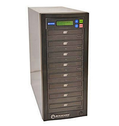DVD Dupllicators - Microboards Premium Pro 18X DVD Duplicator - 7 Copy - 160GB HD