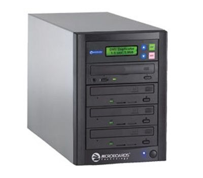 Microboards Quic Disc 24X DVD Duplicator - 3 Copy