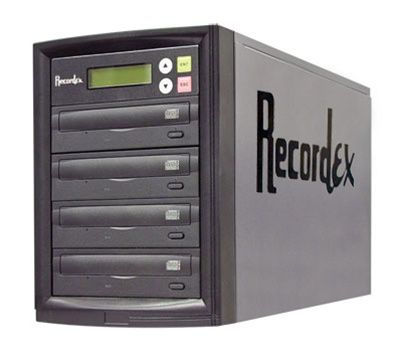 Recordex D3- 16X DVD Duplicator Tower - 3 Copy - 120GB HD