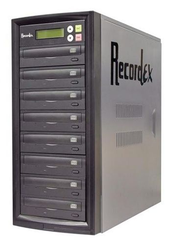 Recordex D7 - 16X DVD Duplicator Tower - 7 Copy - 120GB HD