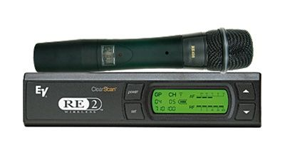 ElectroVoice RE2410 UHF Wireless Mic RE410 Cardioid Condenser