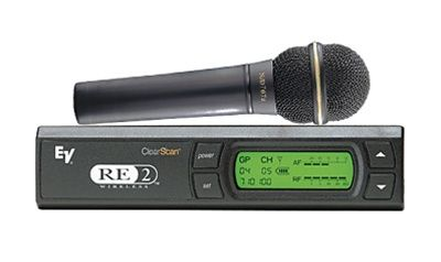 ElectroVoice RE2N7 UHF Wireless Mic N/D767a Hypercardioid Element