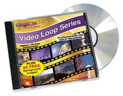 Kingdom Video Loops Volume 2 - Cross and Resurrection Pack