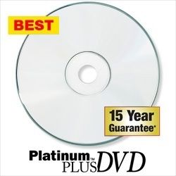Kingdom Platinum Plus 16X DVD-Rs-White Inkjet