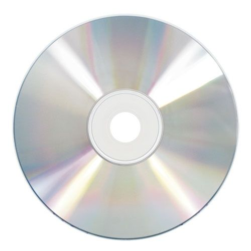 Safe-Trax Economy Blank Printable 16X DVDs-Silver Inkjet