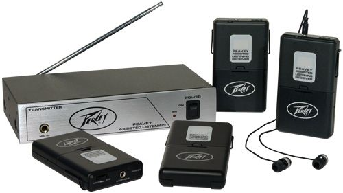 Peavey Assisted Listening System - 72.1 Mhz