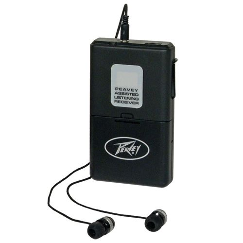 Peavey Assisted Listening System - 72.1Mhz - Extra Receiver w/Ear Buds