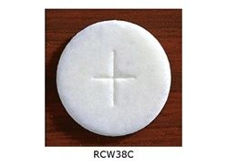 "Communion Wafers - White 1 3/8"" - Cannister of 750"