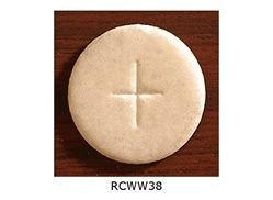 "Communion Wafers - Whole Wheat 1 3/8"" - Cannister of 750"