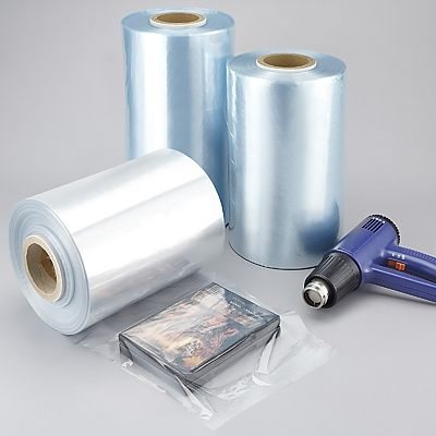 Center Fold Shrink Wrap Film - 6 Inch