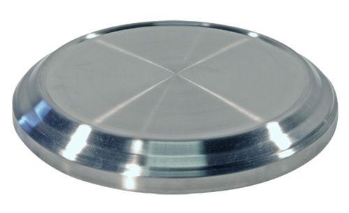 Base for Communion Stackable Bread Plates - Stainless Steel