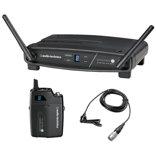 Audio-Technica System 10 Digital Wireless Lavalier System