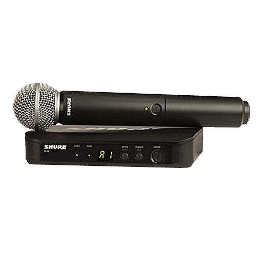 Shure BLX Wireless Microphone W/ SM58 Handheld