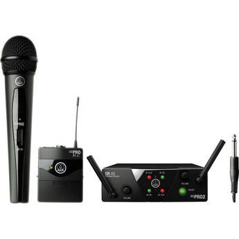 AKG WMS 40 Mini2 Dual Wireless System - Handheld & Instrument Microphone